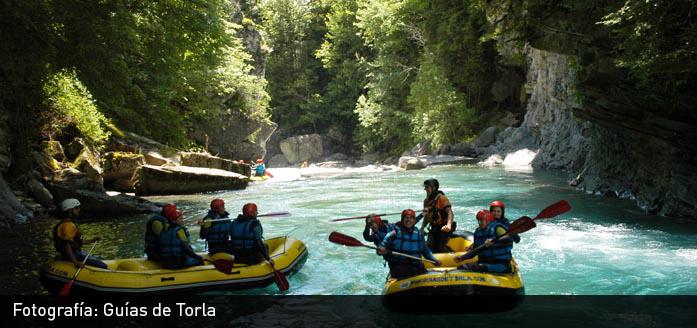 Rafting for Oficina turismo torla