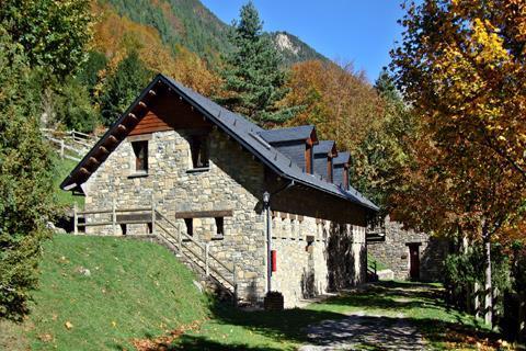 Refugio valle de bujaruelo for Oficina turismo torla